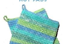 crochet oven cloves