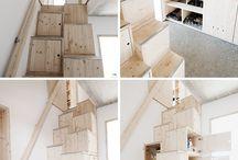 Atelier et chambre