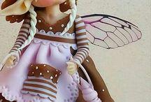 Гномы,куклы