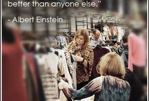 Great Quotes for Professional Retailers / Great quotes to keep retailers, boutique and store owners motivated to keep doing what they are doing!