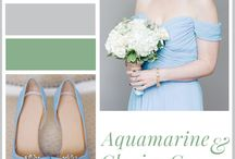 Inspiratie - Color theme wedding / Inspiration for a wedding in color theme