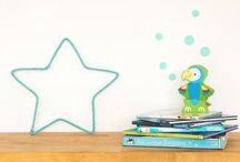 mint baby nursery / Baby accessories and decorations in mint. Mint is a fresh color, can be gender neutral and you can lead to girlish or boyish also, as you really like it.