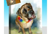 Watercolor Style / Turn your photo into a classic Watercolor Canvas Art Masterpiece!