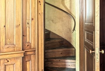 The paneled room