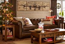 Cozy family room / by Tiffany Mattison