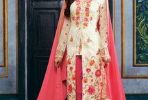 Long Straight Designer Salwar Suits