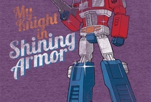 Transformers / Mostly shirts found on the web. Crossovers will be included here and on my general geek board.