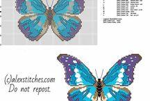 Nature cross stitch patterns / cross stitch patterns