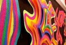 různé abstraktní