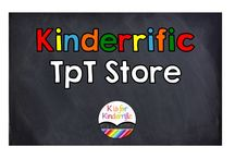 Kinderrific on TpT / My items from TpT