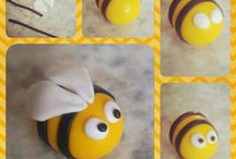 樹脂粘土ハチ