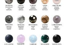 Moon & crystals