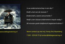 """De begeestering - Visuals / Reclame uitingen en visuals van de campagne """"De begeestering - advies voor de ondernemer"""". Hier zijn al de previews te zien. www.debegeestering.nl"""