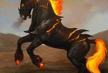 Магические лошади