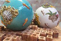 Contemporary Italian pottery
