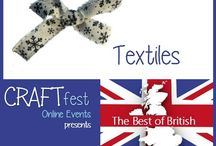 #CRAFTfest - Textiles Category - Sept 2016 / International sellers with stalls in the Textiles category of the September #CRAFTfest Event share with us their creations. http://www.craftfest-events.com/uk-events.html and http://www.craftfest-events.com/pride-of-america-form.html