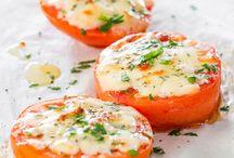 Recipe baked tomato
