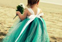 Wedding Dresses (Bride/ Girls) & Shoes