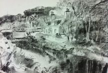 Drawings by art4you Scotland artists and students / Drawings by artists and students attending art4you Scotland art classes & courses