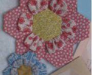 flor con hexagono