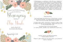 blessingways and baby celebration ideas