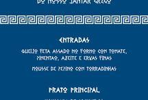 Decoração Festa Grega