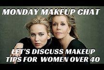 MAKEUP TIPS FOR WOMEN OVER 40 / MATURE WOMEN BEAUTY TUTORIALS