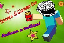 "Live de ""La Scienza di Giacomo"""