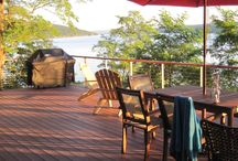 Cable Railings for Decks / Some nice pictures of cable deck railings. cable railings  make a great outdoor deck railing since they are low maintenance and do no block your view like other types of deck railings. Check out these great deck railing ideas.