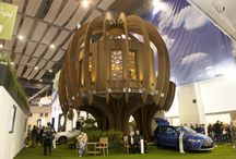 Ideal Home Show / Cantifix are happy to be working alongside Quiet Mark and Blue Forest Luxury Treehouses to supply and install glazing for the Quiet Treehouse - the central feature of the 2014 Ideal Home Show.