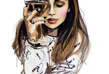 """Inspirações de Desenhos / """"O reflexo da arte..."""""""