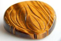 gemstone tigers eye carving loose gemstone