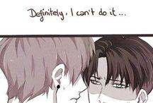 Eren. Levi.