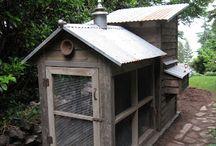 domki / pomysły na domki narzędziowe, domki dla ptaków