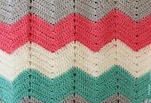 Zig-zag blankets