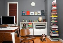 Home Office Ideas / This is the place where you can find loads of inspiration for your next, great home office! Feel free and pin whatever you want. Who knows? You might need in the future!