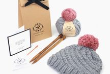 Mollie Makes Handmade Awards 2017 / We make knitting simple. Everything in one kit with online tutorials and London knitting workshops. 1) Best Established Business Award: Since 2013 we're now a team of 3. Milestones include meeting Prince Charles and being stocked in Liberty and John Lewis. 2) Best Workshops Award: We're patient, fun and full of smiles! We build any beginners confidence to pick up those needles! 3) Best New Product Award: Our most popular Luca Pom Hat include our super-soft merino yarns and chunky needles.