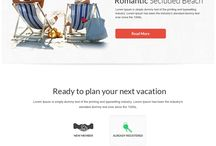 tourism website inspiration