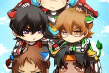 The Paladins of Voltron
