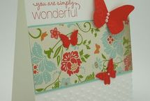 SU Butterfly Cards / DIY Cards / by Kathy Coignard