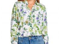 Koszule wzór florystyczny