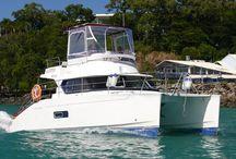 Whitsunday Power Catamarans / Boating Holidays Whitsundays
