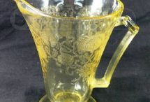 depression glass / by Ruth Mcmorrow