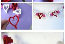 Love/Valentine crafts