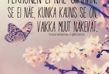 Mietteitä/runoja