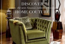 Home Couture / Smania's first collections dedicated to home coordinates