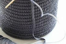 Крупное вязание и плетение / Вязание руками и из толстой пряжи