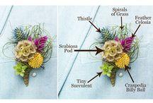 Mariages et fleurs ...