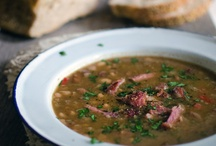 {Soups} & Stews / soups and stews, for stovetop and slow cooker / by Mary Eichman