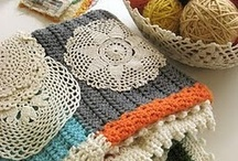 Crocheting / by Diana Feather